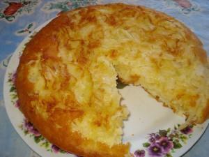 Простой рецепт пирога с капустой