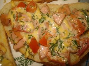 Бутерброд «Вкусняшка»