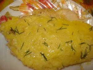 Куриное филе жареное с лимоном