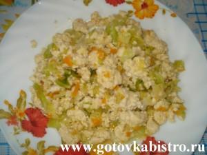 Рагу овощное с фаршем