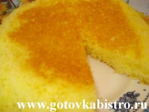 Простой и быстрый лимонный пирог