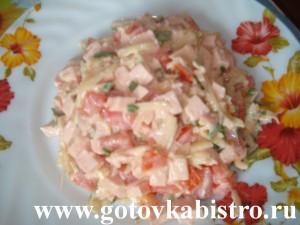 Салат «Вкусно и быстро»
