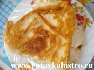 Горячая закуска с лавашом