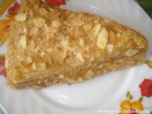 Вкусный торт «Наполеон»