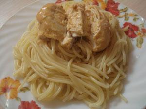 Куриное филе с вкусным соусом
