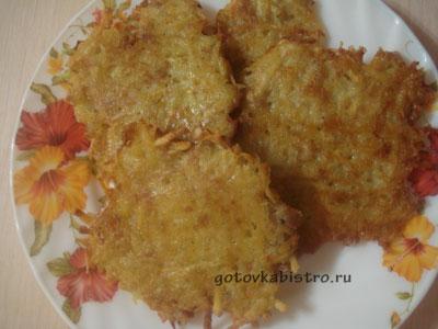 Вкусные драники из картошки