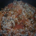 Рисовая каша с мясом в мультиварке3