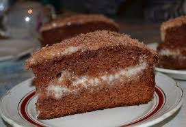 Вкусный шоколадный торт со сметанным кремом